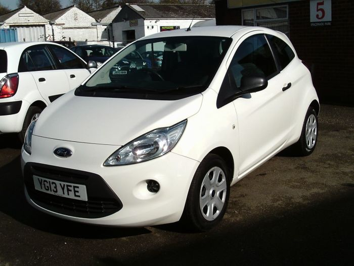 Ford Ka 1.2 Studio 3dr [Start Stop] Hatchback Petrol White